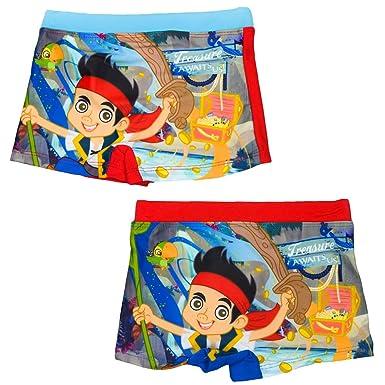 e1eae5d313 Jake and the Never Land Pirates Boys Swim Shorts Trunks Pants 3 4 5 6 Years  (3 Years - 94cm, Red): Amazon.co.uk: Clothing