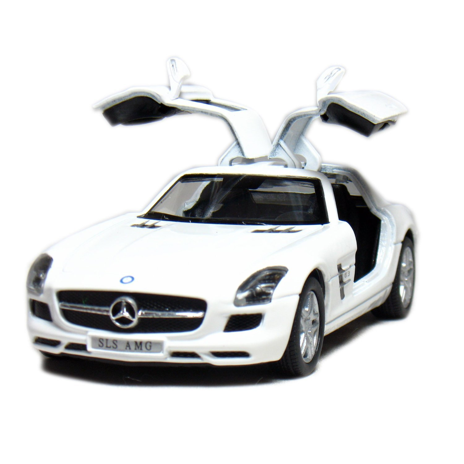 "Amazon Set of 4 5"" Mercedes Benz SLS AMG 1 36 Scale Grey Red"