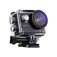 VTIN macchina fotografica di azione 1080P HD WiFi sport Cam 2,0pollici fotocamera subacquea con casco fotocamera impermeabile 170Ultra Grandangolare con 2Batterie e Accessori Kit