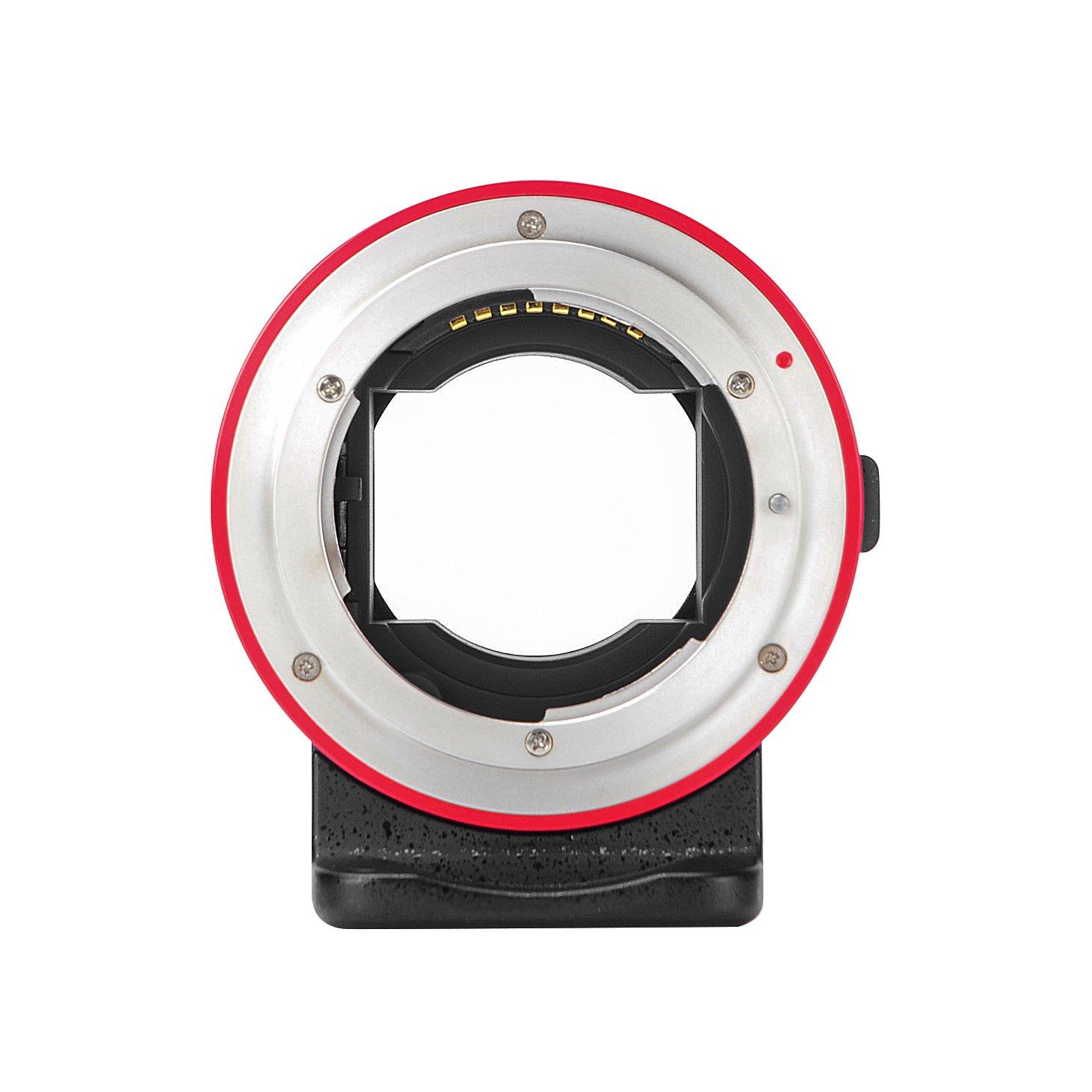 FOTOMIX AODA EC-SNF-E(S) Auto Focus Adapter for Nikon F G Lens to Sony E Mount Cameras A9 A7II A7RII A7RIII A6300 A6500