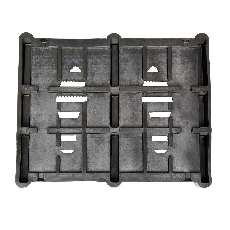 "BISupply Boot Brush Scraper Outdoor Mud Mat Rubber Boot Mat Shoe Scraper Mat 14.8/"" x 12.1/"" Inch Boot Scraper Shoe Mat"
