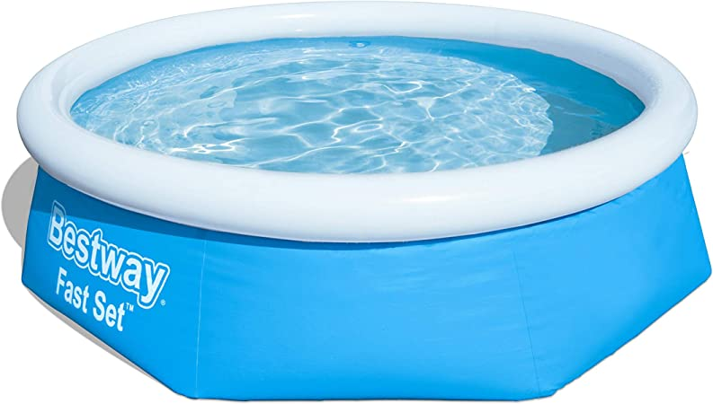 Bestway Fast Set Piscina Desmontable Autoportante, 244x66 cm: Amazon.es: Juguetes y juegos