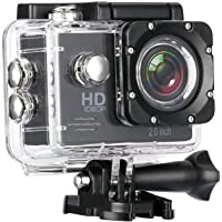 Drumstone Sports Action Camera Video Camera Waterproof Digital Cam Car Dash Cam Full HD 1080P 12MP 25fps 30fps Helmet Mount Accessories Camera Kit 2 inch LCD Screen
