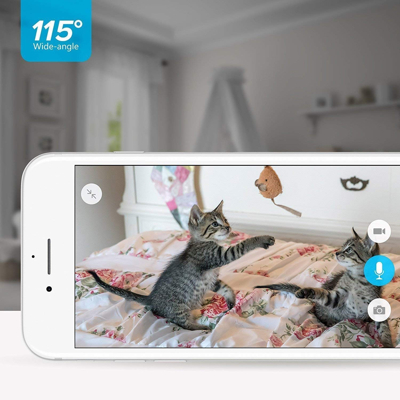 Zmodo Two-Way Audio Mini WiFi Home Security Camera (2 pack) by Zmodo (Image #4)