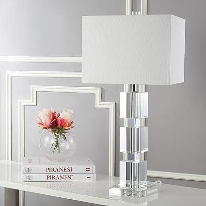 Amazon Com Safavieh Lighting Collection Ice Palace Crystal Cube 28