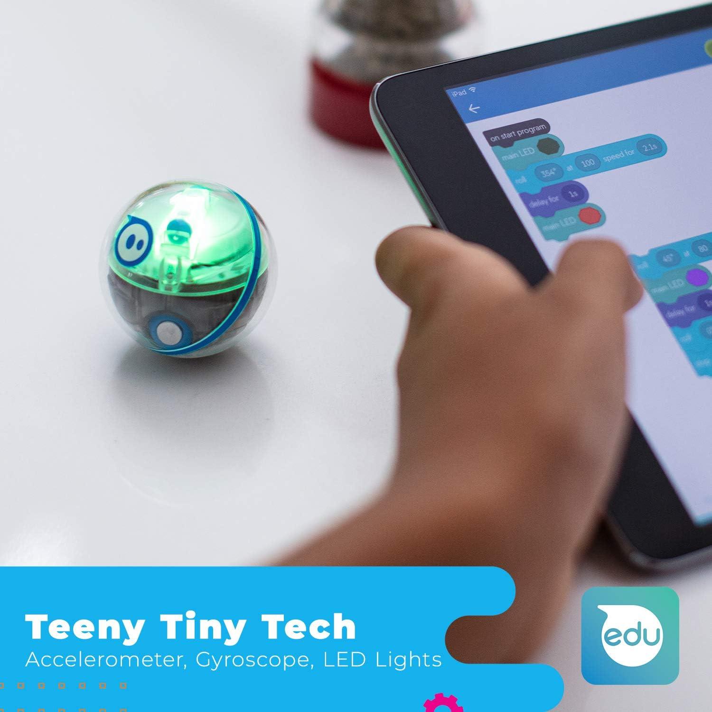 Sphero Mini Robot connecté interactif, M001ORW, Orange Activity Kit