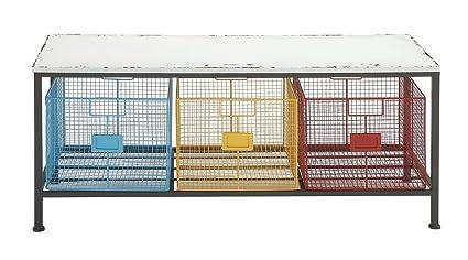 Astounding Metal Storage Bench Dailytribune Chair Design For Home Dailytribuneorg