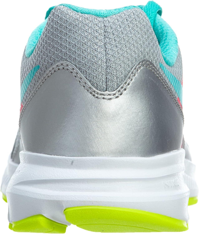 Nike Downshifter 6 (GS/PS) - Zapatos atléticos para mujer, color Multicolor (Plata / Azul / Rosa / Blanco) , talla 35.5: Amazon.es: Zapatos y complementos