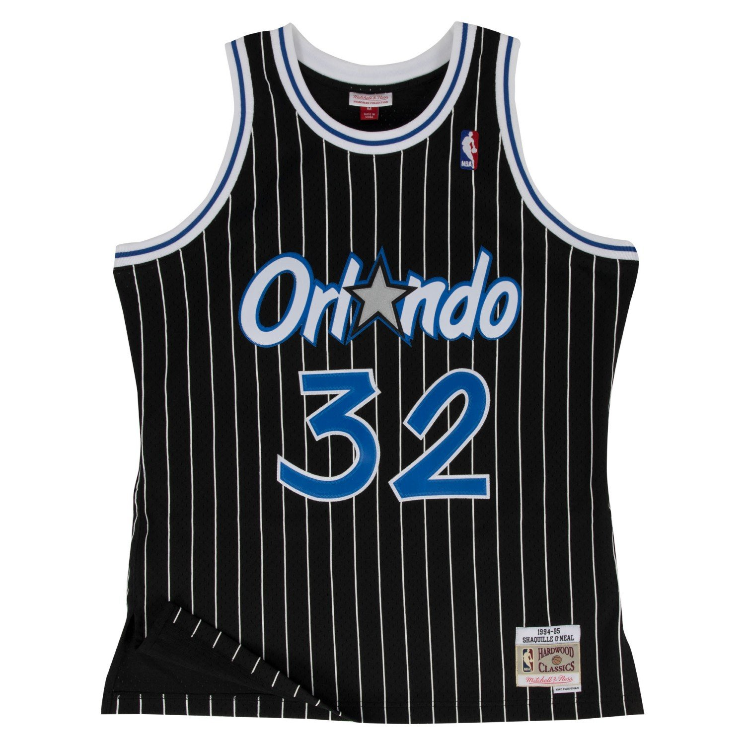 sale retailer 8ae61 3414a Mitchell & Ness Orlando Magic Shaquille O'Neal Black Swingman Jersey