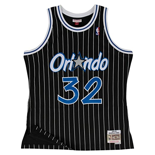 33767ccef25f Mitchell   Ness Shaquille O Neal Orlando Magic Swingman Jersey Black ...