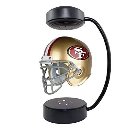 Nfl Hover Helmet Collectible Levitating Football Helmet With Electromagnetic Stand