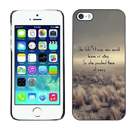 Blokk Case Apple Iphone 5 5s Gedicht Urlaub Aufenthalt