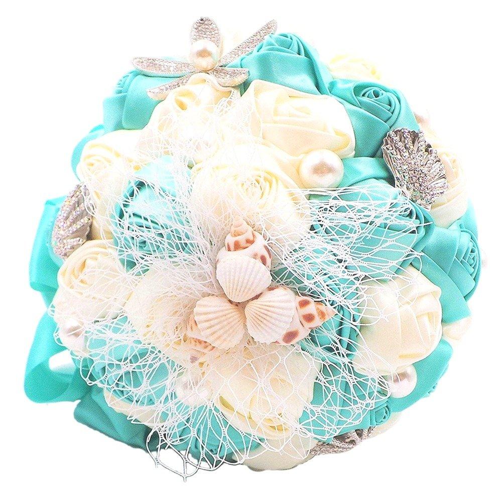 Amazon Abbie Home Beach Wedding Bridal Bouquet Holding Tossing