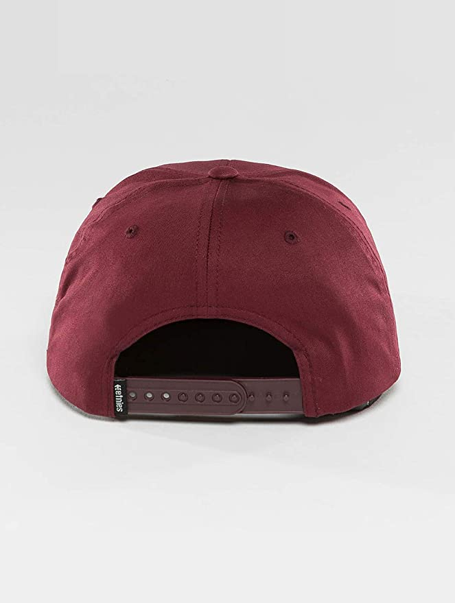 Etnies Corp Box Snapback Burgundy One Size: Amazon.es: Ropa y ...