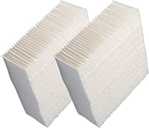 Humidifier Filter Replacement Compatible with AIRCARE 1043, Humidifier Wick Filter Compatible with Essick Air AIRCARE Bemis EP9500, EP9700, EP9800, Spacesaver 800 8000 Series,Pack of 2