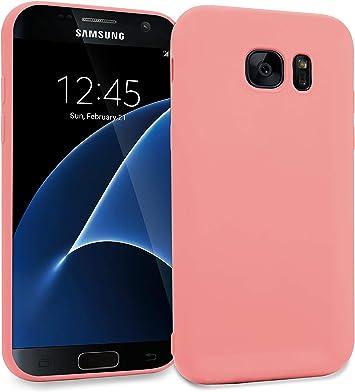 MyGadget Funda Slim para Samsung Galaxy S7 Edge Soft Ultra Delgada 0,8mm: Amazon.es: Electrónica