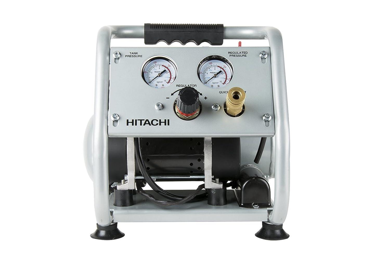 Hitachi EC28M Ultra Quiet (59 DB) Oil-Free Portable 1 gallon Air Compressor