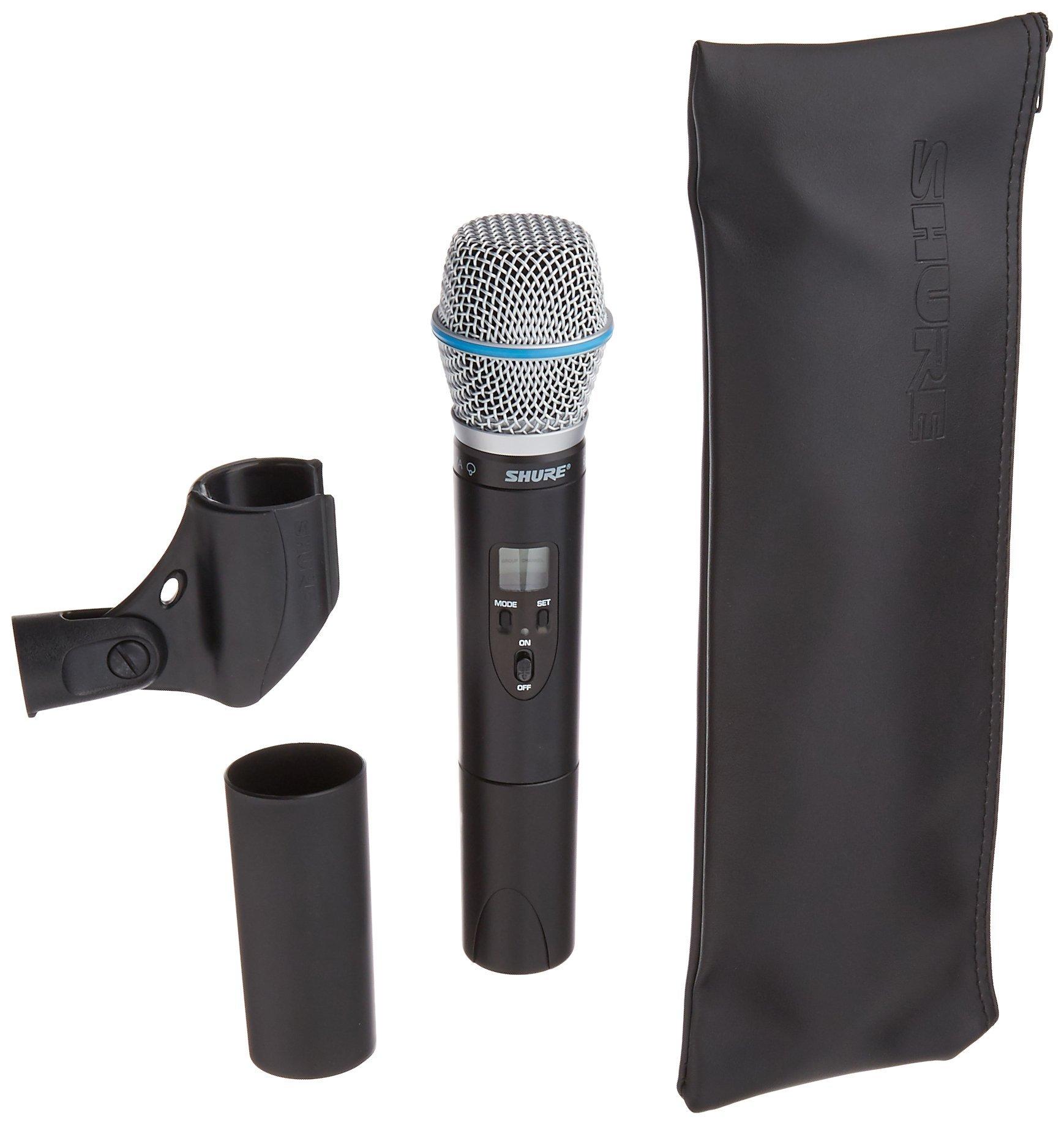 Microfono Shure ULX2/BETA87A with Beta 87A Supercardioid ...