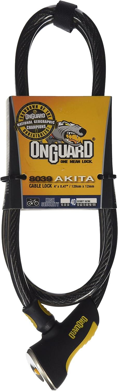 Onguard Akita 8038 cabel lock black