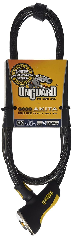 ONGUARD 8040 Akita 12mm x 6 Cable Lock
