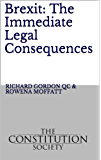 Brexit: The Immediate Legal Consequences (English Edition)