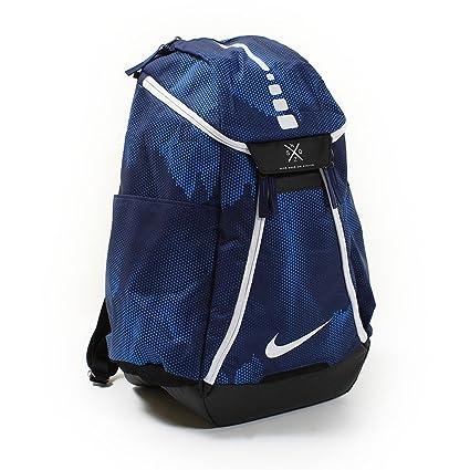 8b050a3a02d Amazon.com  Nike mens NK HPS ELT MAX AIR BKPK- AOP BA5260-429 - BINARY  BLUE BLACK WHITE  Sports   Outdoors