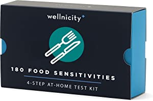 Wellnicity at-Home Food Sensitivities Test Kit, Measures 180 Foods