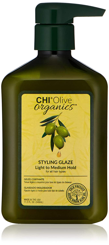 CHI Olive Organics Styling Glaze - Paraben and Gluten Free, 11.5 oz.