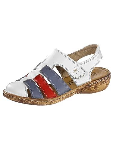 f52d3188af1d9d Vamos Damen Klettsandalette 40  Amazon.de  Schuhe   Handtaschen