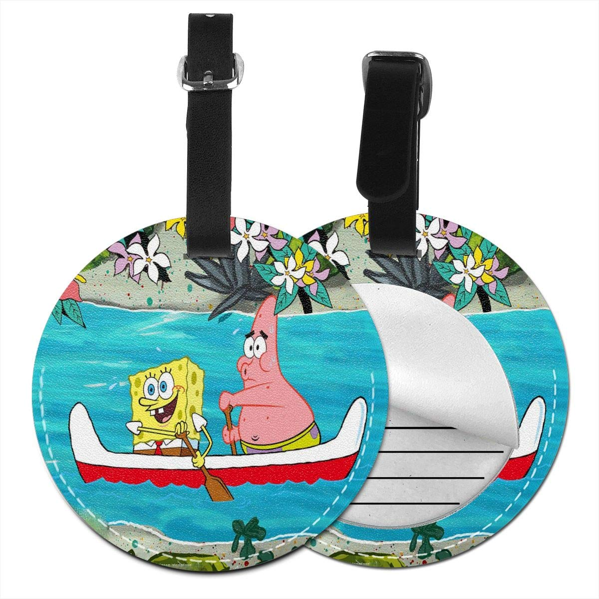 WEIBING Round Luggage Tag5021d6ae5dc22 Luggage Tags Suitcase Labels Bag Travel Accessories