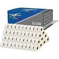 Aftertech Rollos de etiquetas adhesivas compatibles (750 etiquetas/rollo = 75000 en total) para Dymo LabelWriter Seiko…