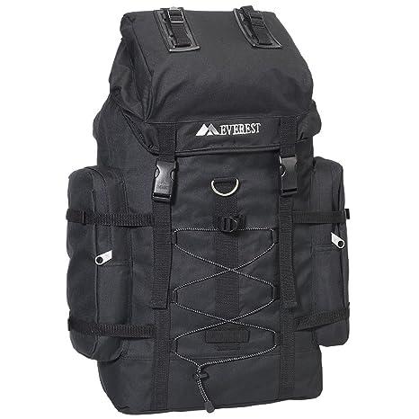Everest - Mochila de Senderismo, Color Negro, Talla única: Amazon.es: Equipaje