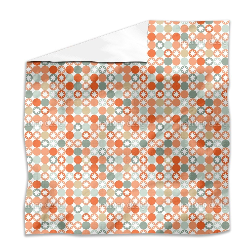 Autumnal Star Bingo Flat Sheet: King Luxury Microfiber, Soft, Breathable by uneekee