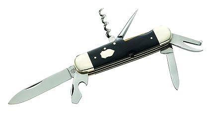 One Size Braun Hartkopf Jagd-Taschenmesser Messer