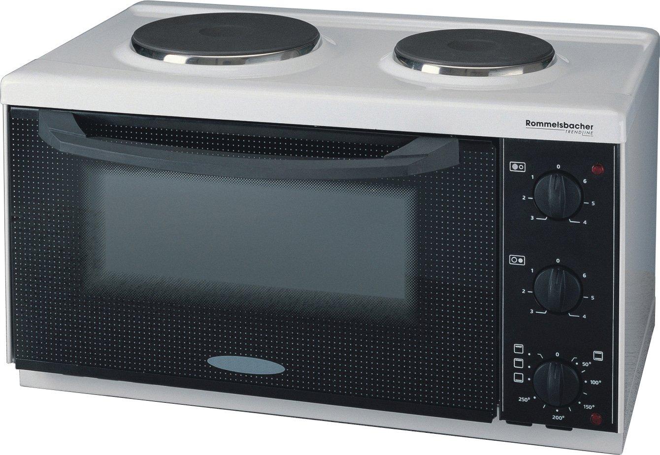 ROMMELSBACHER KM 2501 Kitchen Master - KLEINKÜCHE - 2500 Watt - weiß Mikrowellen
