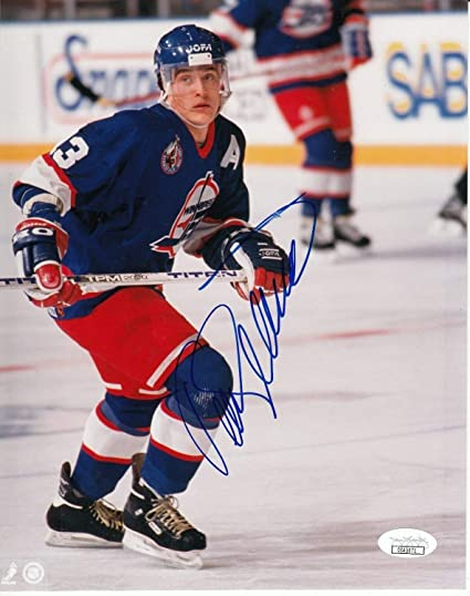 040d68107 Teemu Salanne Autographed Signed 8x10 Photo With Memorabilia JSA COA ...