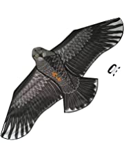 Sun Kites Large Eagle Bird Kite for Kids Adults Boys & Girls - Huge Wingspan and Lifelike Design - Easy to Assemble & Fly