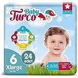 Baby Turco Bebek Bezi 6 Numara Xlarge 24 Adet