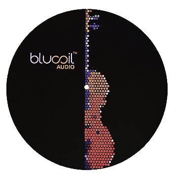 Amazon.com: blucoil Slipmat para tocadiscos V2 de audio para ...