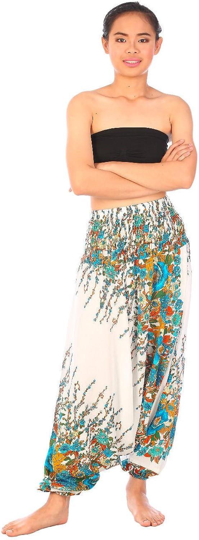 Amazon.com: Harem pantalones Genie Unisex Hombre Mujer ...