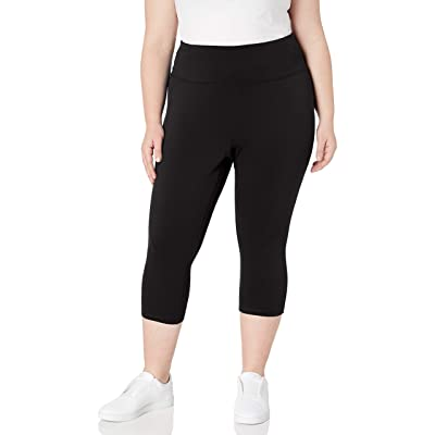 Essentials Women's Plus Size Performance High-Rise Capri Legging: Clothing