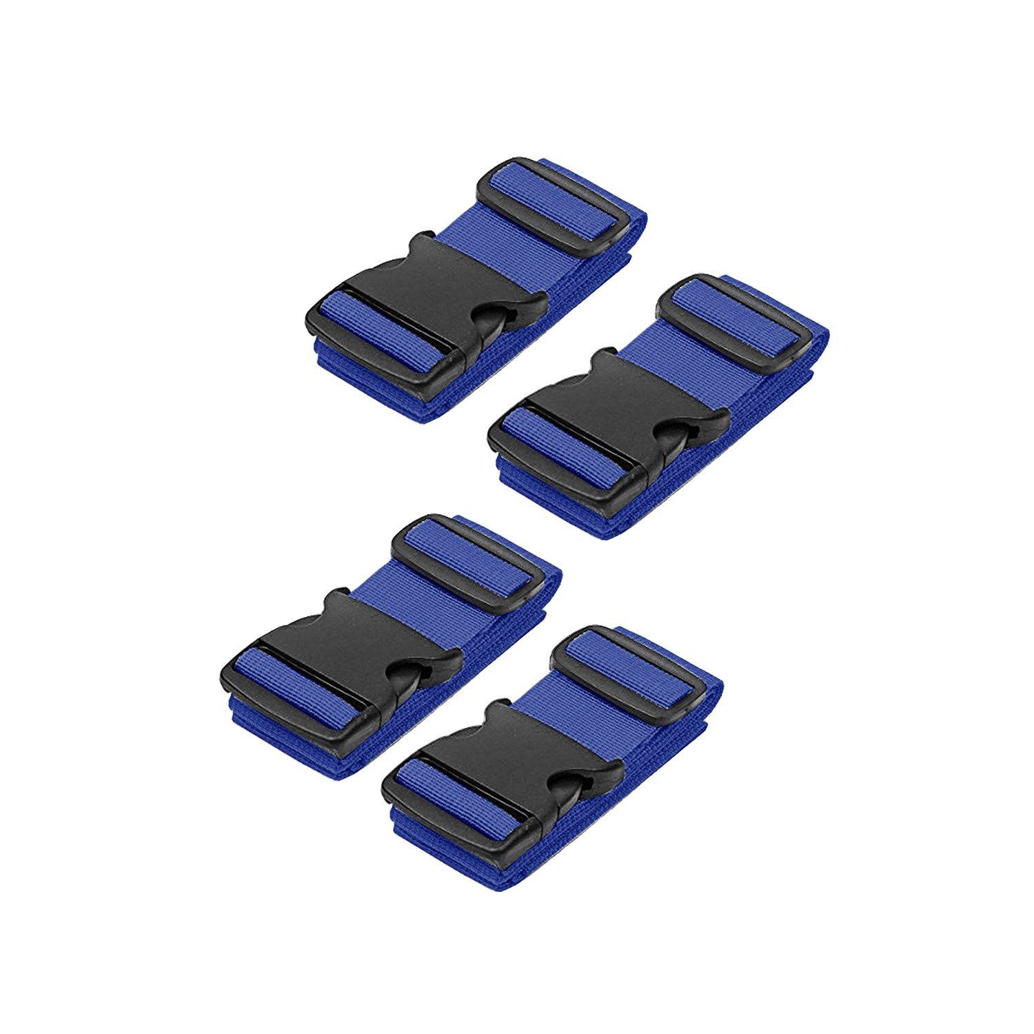 Luggage Straps - Travel Accessories TSA Approved Luggage Straps Suitcase Belts In 6 Colors Sold In 1/2/4 set By SWISSELITE