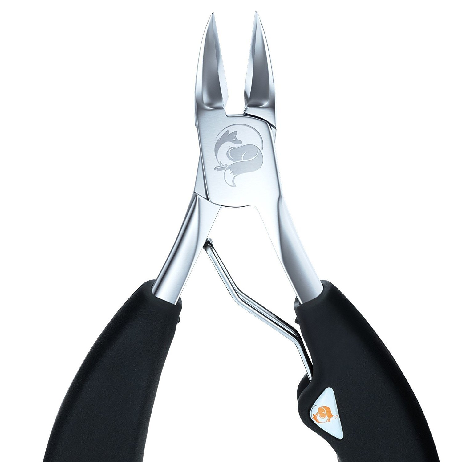 The Original Soft Grip Toenail Clippers by Fox Medical - Surgical Grade Stainless Steel Nail Nippers