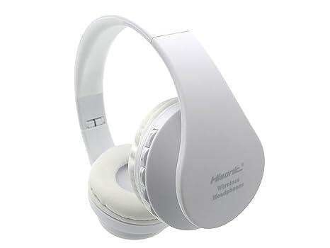 Auriculares de diadema Bluetooth Inalámbricos, Hisonic Auriculares con micrófono Auriculares Bluetooth de Diadema Plegable con