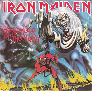 amazon the number of the beast iron maiden ヘヴィーメタル 音楽