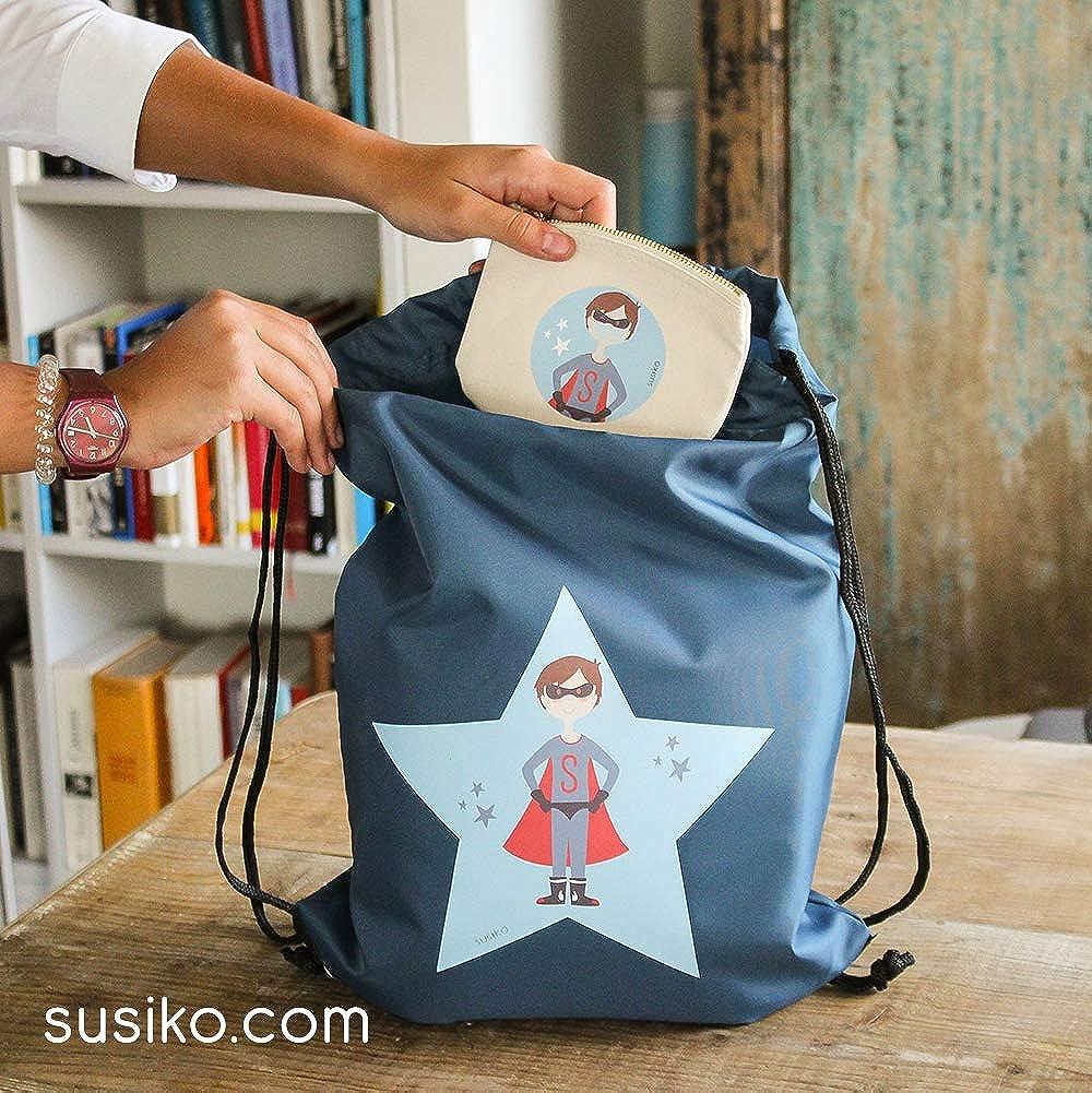 Bolsa para mascarilla para Ni/ños Susiko ni/ño mediano natural