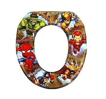 Sensational Marvel Superhero Avengers Soft Potty Seat Spiderman Thor Hulk Iron Man Evergreenethics Interior Chair Design Evergreenethicsorg