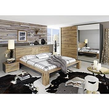 rauch Schlafzimmer-Set Davos 4-tlg., Wildeiche Nachbildung ...