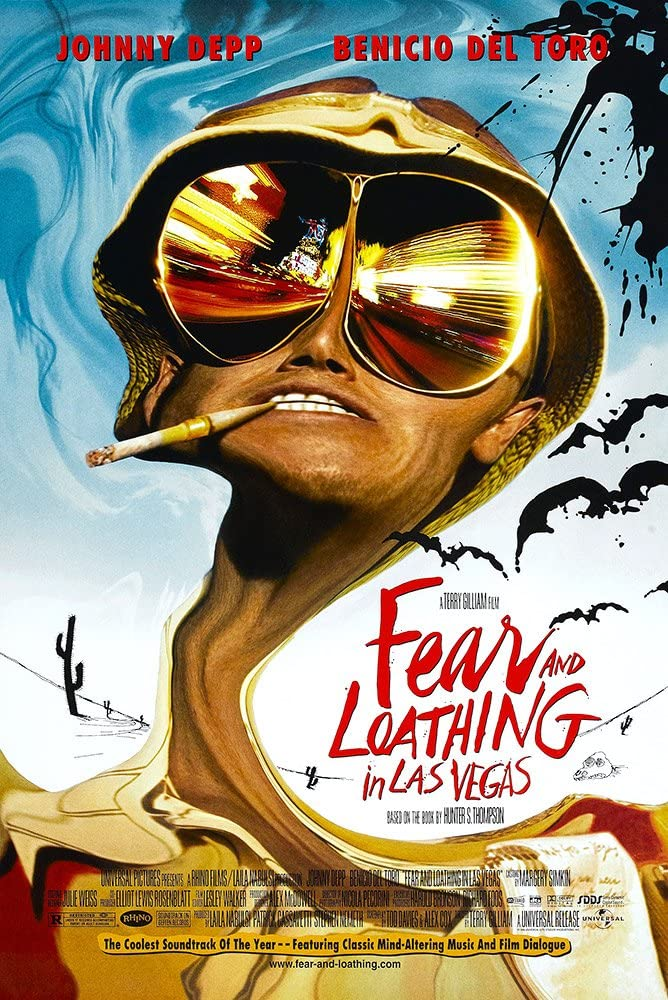 Fear And Loathing In Las Vegas Movie Poster 24x36/""