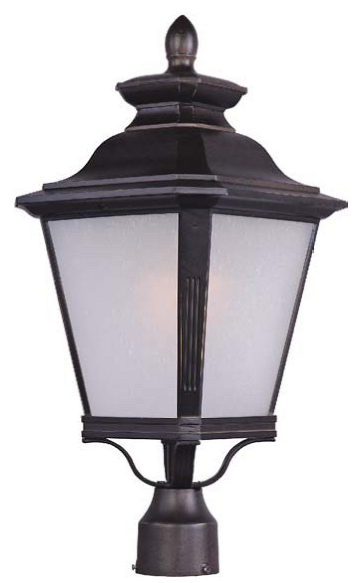 Maxim Lighting 1120FSBZ Knoxville-Outdoor Pole/Post Mount 1-Light Lantern by Maxim Lighting